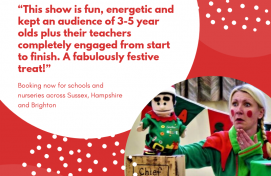 Available dates for EYFS Elf and Pantos are selling FAST!