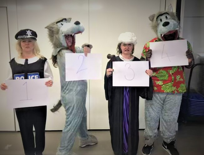 Literacy; Book Weeks & World Book DayWolf on Trial