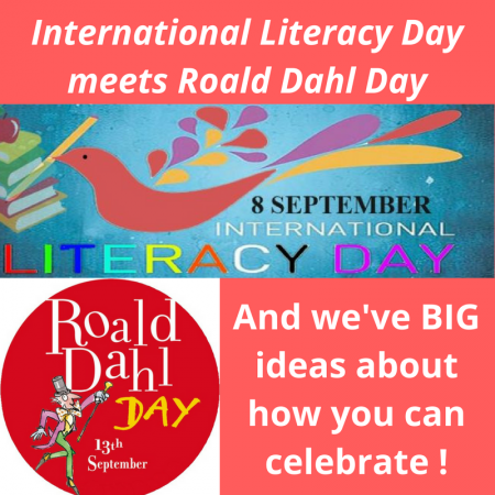 International Literacy Day meets Roald Dahl Day