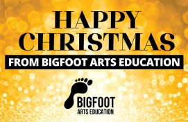 A Happy Christmas Message From Bigfoot