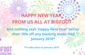 Happy New Year From Us All At Bigfoot