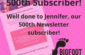 500th Newsletter Subscriber!