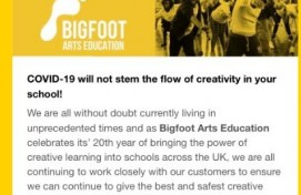 COVID 19; A letter from Bigfoot's CEO