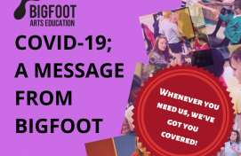 COVID- 19; A Message from Bigfoot